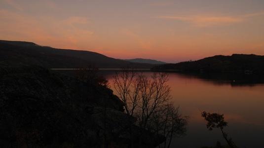 Ocaso en el Lago de Sanabria