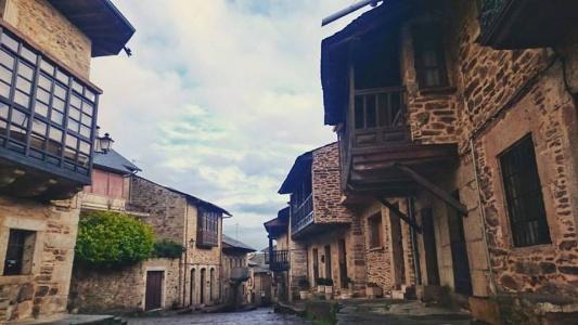 Calle en Puebla de Sanabria
